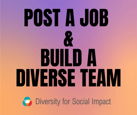 post a job for diversity DEI